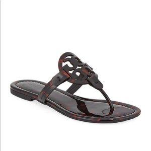 Tory Burch Miller Printed Flat Thong Sandals